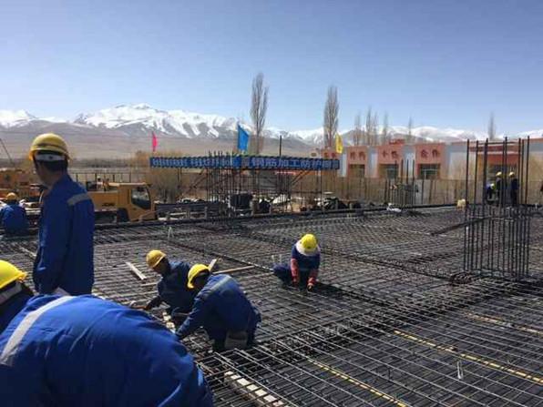 新疆福塔友谊小学工程