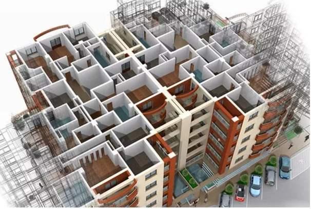建筑模型(BIM)设计