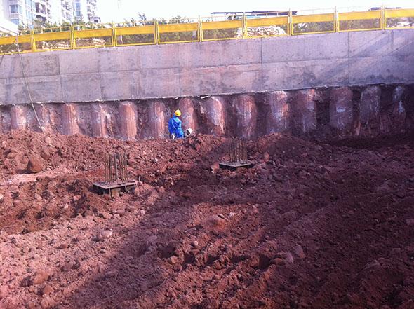 旋挖桩工程展示 (1)